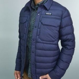 Patagonia M's Silent Down Shirt Jacket ClassicNavy